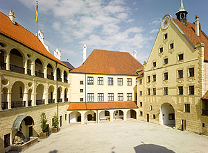 Picture: Trausnitz Castle, courtyard