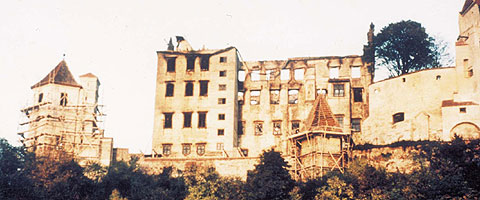 Picture: The burnt out Princes' Building