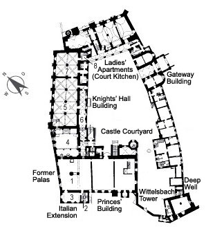 Picture: Plan of the ground floor